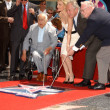 Постер, плакат: Michelle Pfeiffer Hollywood Walk of Fame Ceremony