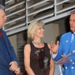 Stock Photo: Mike Curb with Debby Boone and Pat Boone