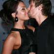 Kaci Brown and Aaron Carter - Stock Photo