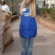 The Los Angeles Mission Thanksgiving Meal for the Homeless - Stock Photo