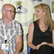 Gary Jones and Amanda Tapping — Stockfoto