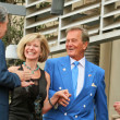 Stock Photo: Mike Curb and Debby Boone with Pat Boone and Johnny Grant
