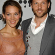 Постер, плакат: Kerry Norton and Jamie Bamber at the 18th Annual GLAAD Media Awards Kodak Theatre Hollywood CA 04 14 07