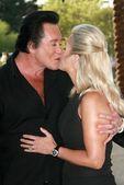 Wayne Newton and wife Kathleen — Stock Photo