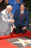 Mike Curb Hollywood Walk of Fame Ceremony — Stock Photo