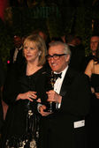 Helen Morris and Martin Scorsese — Stock Photo