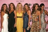 Alessandra Ambrosio, Adriana Lima, Karolina Kurkova, Gisele Bundchen, Izabel Goulart and Selita Ebanks arriving at The Victorias Secret Fashion Show. Kodak Theatre, Hollywood, CA. 11-16-06 — Stock Photo