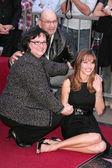 Hollywood Walk of Fame Honoring Hilary Swank — Stock Photo