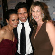 Judy Reyes with Anthony Ruivivar and Yvonne Jung — Stock Photo #16153619