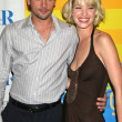 Skeet Ulrich and Ashley Scott — Stock Photo