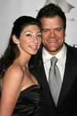 Kevin Weisman and wife Jodi at the 5th Annual Little Black Dress Gala benefiting the LA-based Pediatric Epilepsy Project. Fleur de Lys, Bel Air, CA. 11-18-06 — Stock Photo