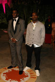 """Sean """"Diddy"""" Combs and Kanye West — Stock Photo"""