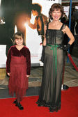 Ada-nicole Sanger and Trisha Simmons at the premiere of The Pursuit of Happyness. Mann Village Theatre, Westwood, CA. 12-07-06 — Stock Photo