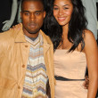 Kanye West and Alexis Rainey - Stockfoto