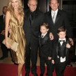 Постер, плакат: Shawn Southwick Larry King and Larry King Jr with family