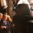 Stock Photo: Robby Robot and Earl Holliman