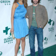 Petra Nemcova and James Blunt — Stock Photo