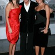 Постер, плакат: Penelope Cruz with Giorgio Armani and Monica Cruz