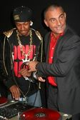 Nick Cannon and Christian Audigier — Stock Photo
