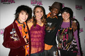 Jade Gilley and Boo Boo Stewart with Taylor Mckinney and Miki Ishikawa — Stock Photo