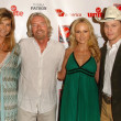 Mariel Hemingway and Richard Branson — Stockfoto