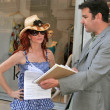 Phoebe Price Subpoenaed in RingPlus Vs. ATT Wireless Court Case — Stock fotografie #16200457