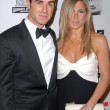 Justin Theroux, Jennifer Aniston — Stock fotografie #16201033