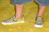 Kevin Smith, Bart Simpson Shoes — Stock Photo