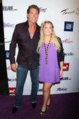 David Hasselhoff and Hayley Hasselhoff — Stock Photo