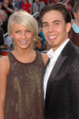 Apolo Ohno and friend — Stock Photo