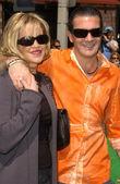 Melanie Griffith and Antonio Banderas — Stock Photo