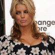 "Jessica Simpson and Blockbuster Announce ""Total Access"" — Foto Stock"