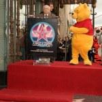 Постер, плакат: Winnie The Pooh Walk of Fame Ceremony