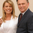 Vanna White and Pat Sajak — Stock Photo