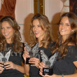 Постер, плакат: Adriana Lima with Alessandra Ambrosio and Izabel Goulart at the launch of the What is Sexy list by Victorias Secret Victorias Secret Los Angeles Ca 04 25 06