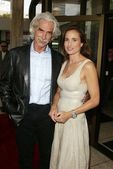 Sam Elliott and Andie MacDowell — Stock Photo