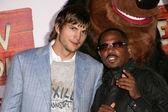 Ashton Kutcher, Martin Lawrence — ストック写真