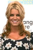 "Jessica Simpson and Blockbuster Announce ""Total Access"" — Zdjęcie stockowe"