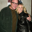 Tom Arnold and wife Shelby — Stock Photo