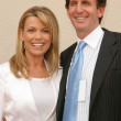 Vanna White and Fiance Michael Kaye — Stock Photo