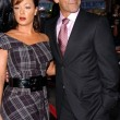 Leah Remini and Angelo Pagan — Stock Photo