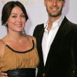 Sasha Alexander and Edoardo Ponti — Stock Photo