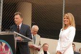 Vanna White Hollywood Walk of Fame Ceremony — Stock Photo
