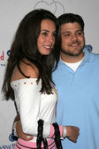 Alexis Spadaro and Jerry Ferrara at Design A Cure hosted by Fred Segal and the Cedars-Sinai Medical Center Womens Cancer Research Institute. Private Location, Brentwood, CA. 10-05-06 — Stock Photo