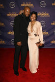 Rockmond Dunbar and Malinda Williams — Стоковое фото