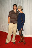 Jason Biggs and Lindsay Zir — Стоковое фото