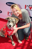 Katherine Heigl at the Old Navy Nationwide Search for a New Canine Mascot. Franklin Canyon Park, Beverly Hills, CA. 04-29-06 — Stock Photo