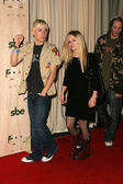 Deryck Whibley and Avril Lavigne — Stock Photo