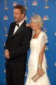 Hugh Laurie and Helen Mirren — Stock Photo