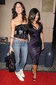 Caroline D'Amore and Kim Kardashian — Stock Photo